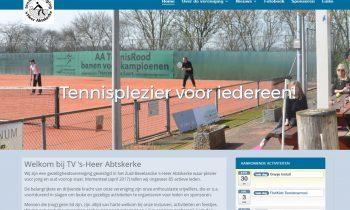 Nieuwe website voor onze vereniging